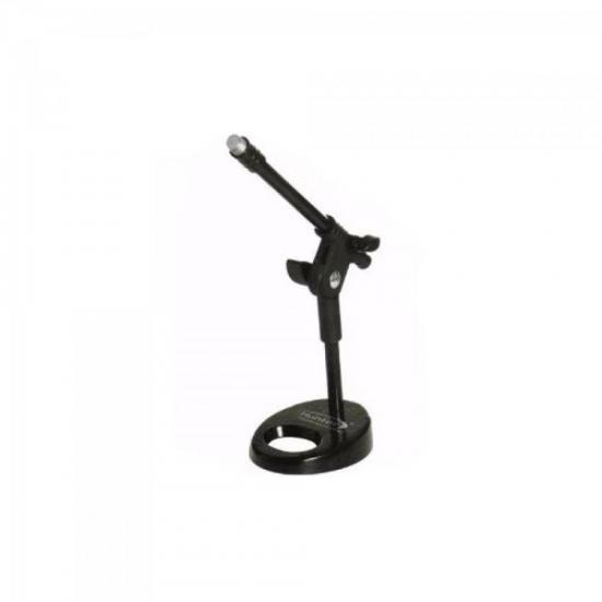 Pedestal Para Microfone De Mesa HPM56 Preto TORELLI