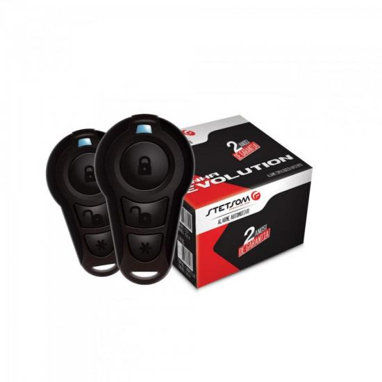 Alarme Automotivo EVX TOP Preto STETSOM