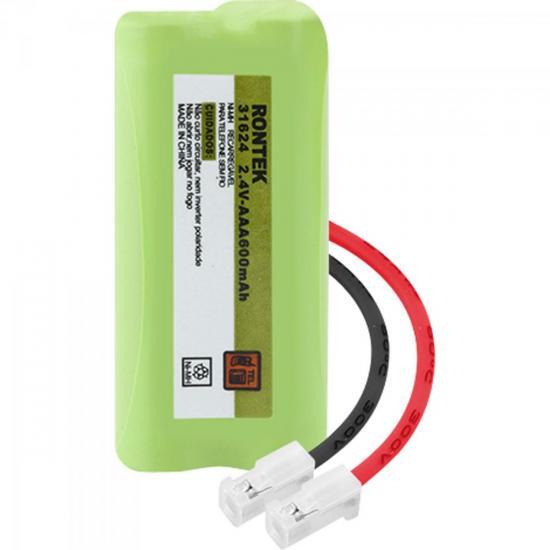 Bateria Recarregável Universal Para Telefone sem Fio NiMh 600mAh 2,4V RONTEK