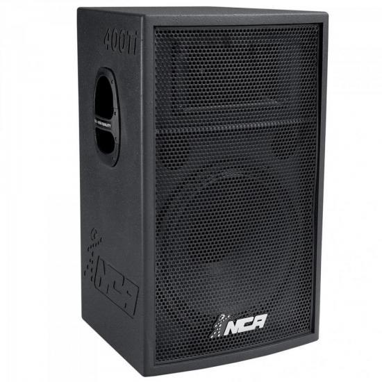 Caixa Acústica Passiva NCA HQ 400TI Preta LL AUDIO