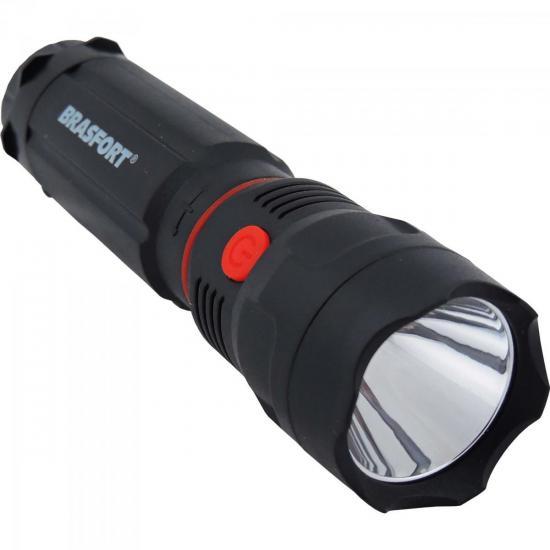 Lanterna LED COPS Preta BRASFORT