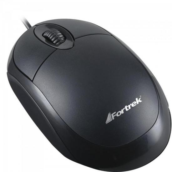 Mouse USB 800 DPI OML-101 Preto FORTREK
