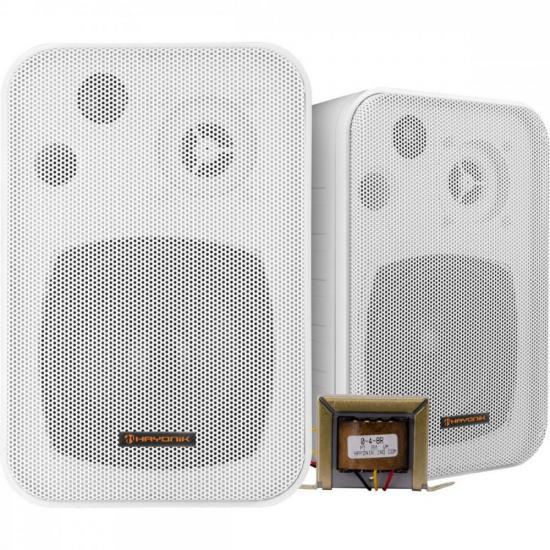 Caixa Acústica com Trafo Embutido de 70V(25W) Ambience Line MSB406