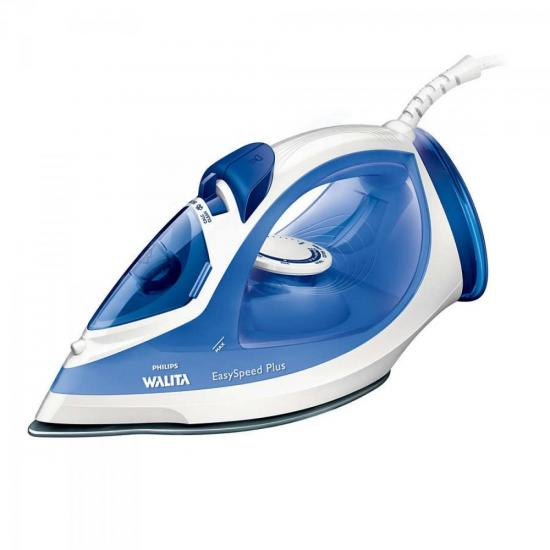 Ferro a Vapor 2000W 220V EASY SPEED RI2047/24 Branco/Azul PHILIPS WALITA