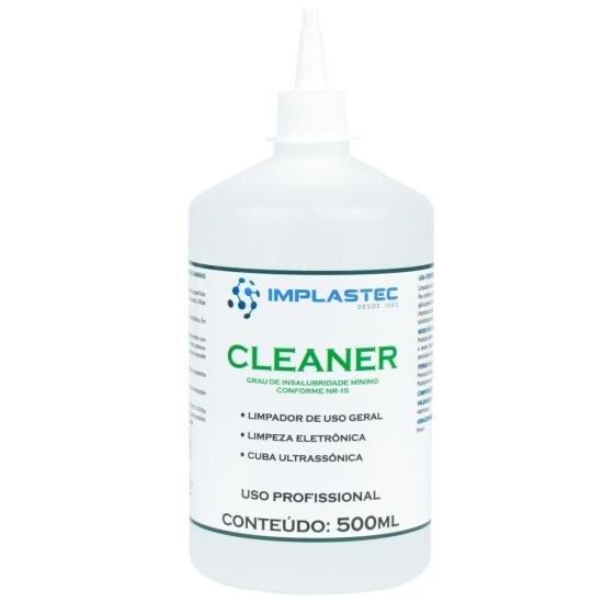 Limpador de Uso Geral Para Eletrônicos 500ml CLEANER Incolor IMPLASTEC