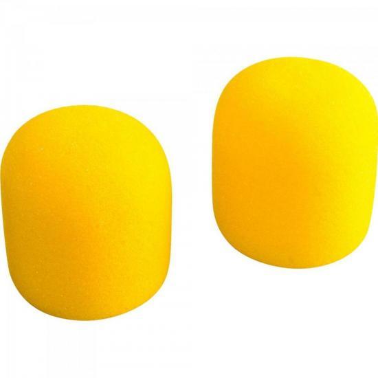 Espuma Protetora Para Microfone SM58 Amarelo MXT