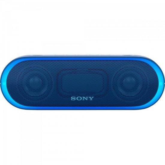 Caixa Multimídia 20W Wireless Bluetooth/NFC SRS-XB20/L Azul SONY