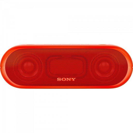 Caixa Multimídia 20W Wireless Bluetooth/NFC SRS-XB20/R Vermelha SONY