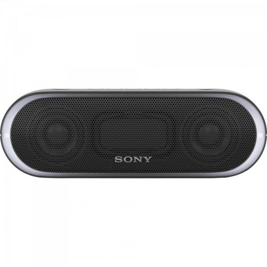 Caixa Multimídia 20W Wireless Bluetooth/NFC SRS-XB20/B Preta SONY