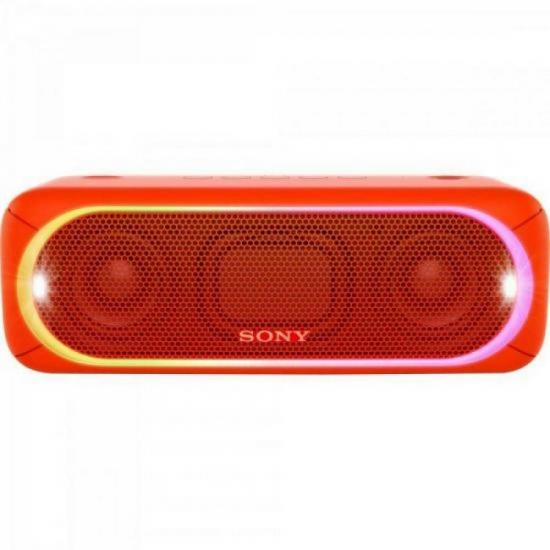 Caixa Multimídia 30W Wireless Bluetooth/NFC SRS-XB30/R Vermelha SONY