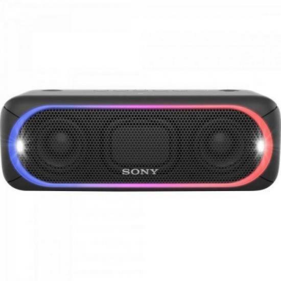 Caixa Multimídia 30W Wireless Bluetooth/NFC SRS-XB30/B Preta SONY