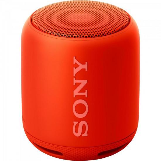 Caixa Multimídia 10W Wireless Bluetooth/NFC SRS-XB10/R Vermelha SONY