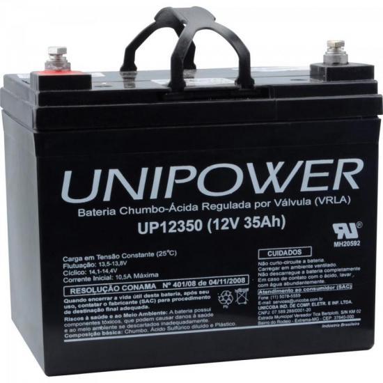 Bateria Selada UP12350 12V/35A UNIPOWER