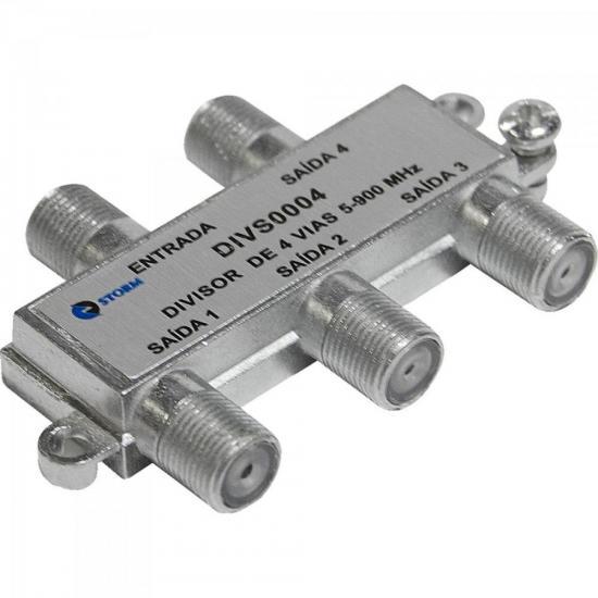 Divisor Antena VHF/UHF 1/4 DIVS0004 Níquel STORM