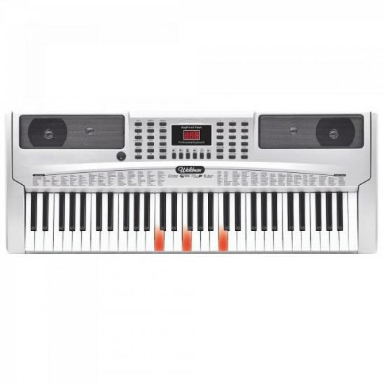 Teclado Profissional KeyPro 61Flash KEP-61F Cinza WALDMAN