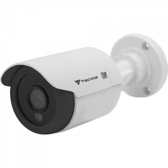 Câmera Bullet IR 25m 2,8mm 1.0MP CCB-128P Branca TECVOZ