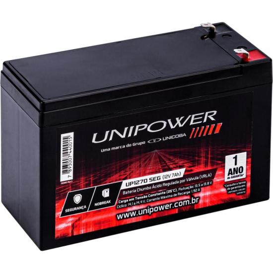 Bateria Selada UP1270SEG 12V/7Ah UNIPOWER (63595)