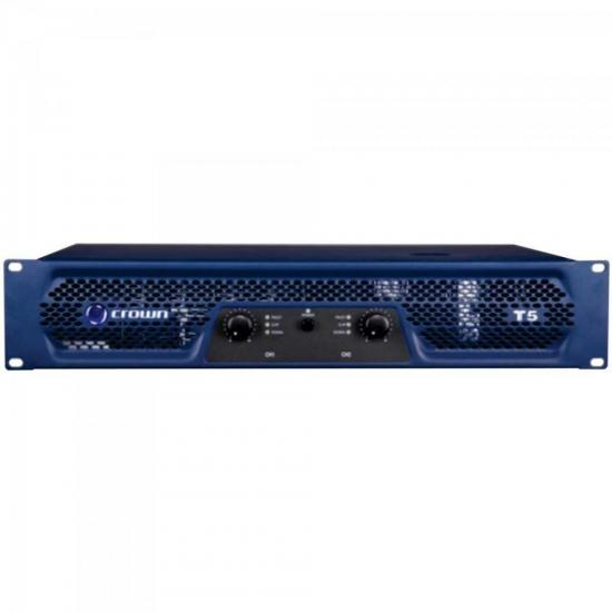 Amplificador 500W 8 Ohms 220V T-5 Azul CROWN