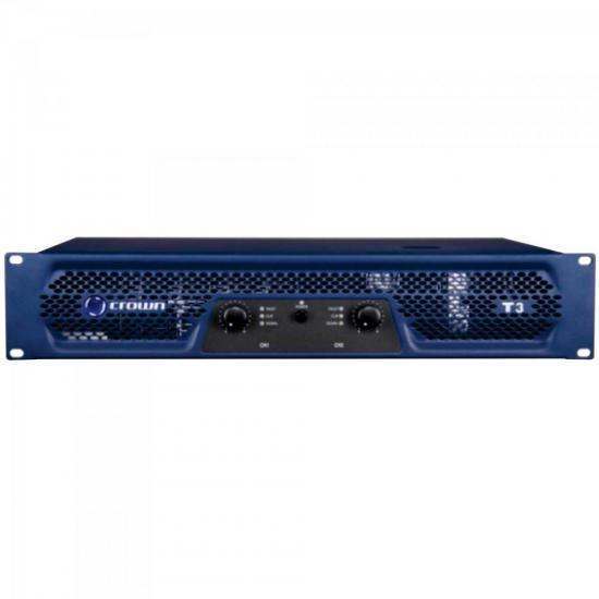 Amplificador 330W 8 Ohms 220V T-3 Azul CROWN
