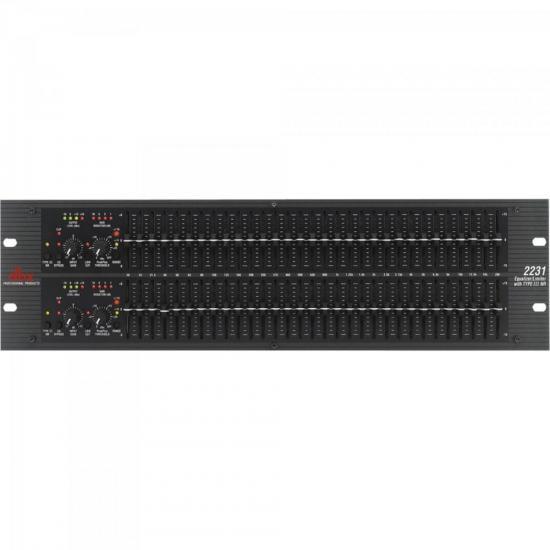 Equalizador Gráfico 2231V Preto 110V DBX (63720)