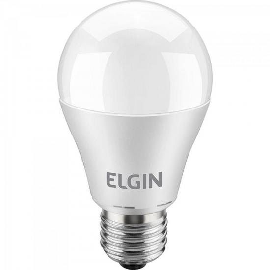 Lâmpada LED Bulbo Power 10W 6500K A60 Branca ELGIN