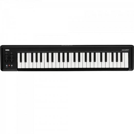 Teclado Controlador MIDI USB MICROKEY2-49 Preto KORG