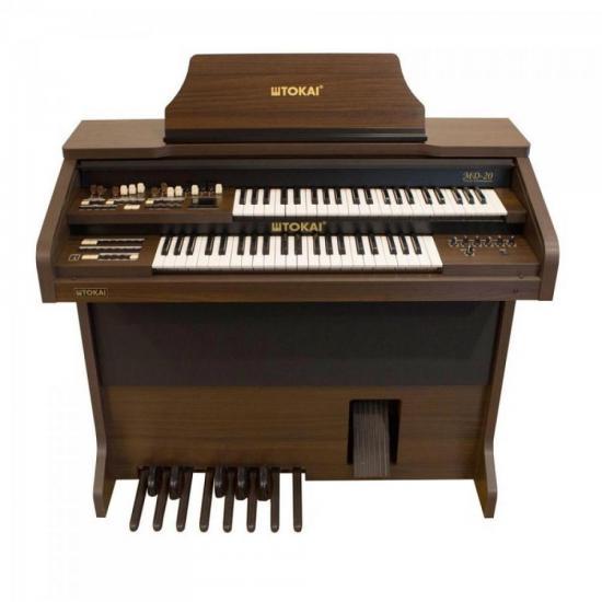 Orgão c/ 44 tc MD20 Marrom Vengue TOKAI (63912)