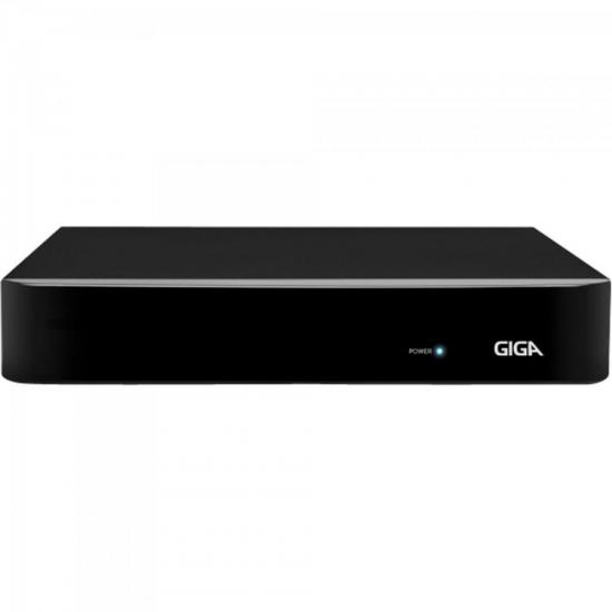 DVR HVR Open (5 em 1) 4 Canais 1080P FULL HD GS04OPENFHD Preto GIGA
