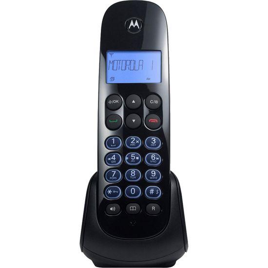Telefone s/ Fio com ID + Secretária MOTO750-SE Preto MOTOROLA (64087)
