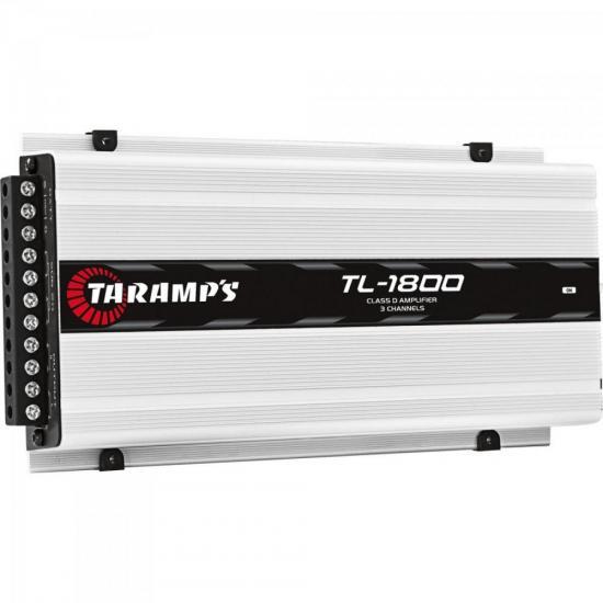 Módulo Amplificador 530W 4R 3 Canais TL1800 TARAMPS