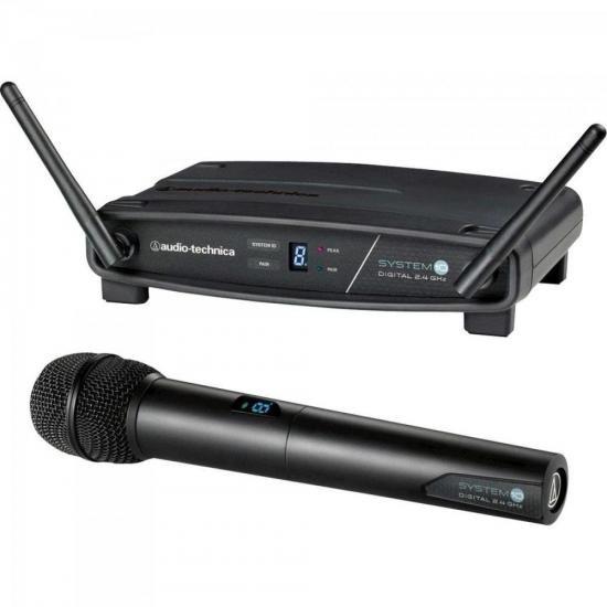 Microfone AUDIO TECHNICA sem fio Mão ATW 1102 (64176)