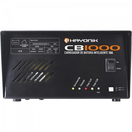 Carregador de Bateria Inteligente 10A CB1000 HAYONIK (64219)