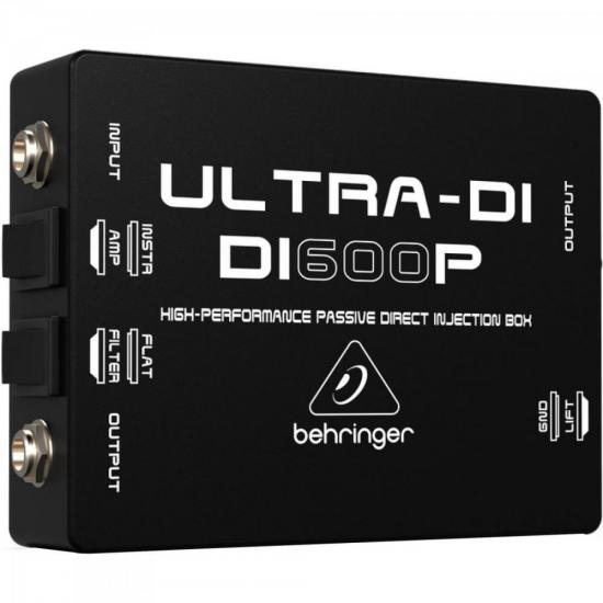 Direct Box Passivo Ultra-DI 1 Canal DI600P BEHRINGER