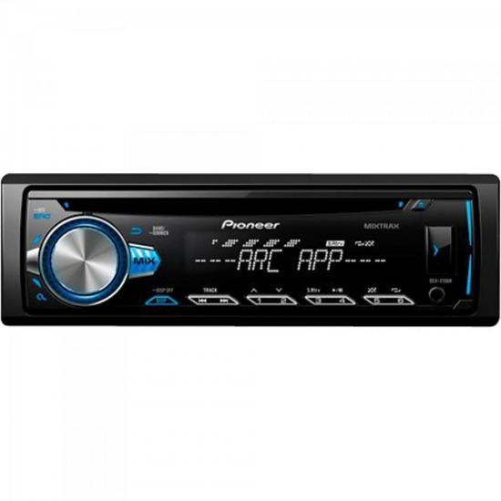 CD Player Automotivo DEHX10BR Preto PIONEER