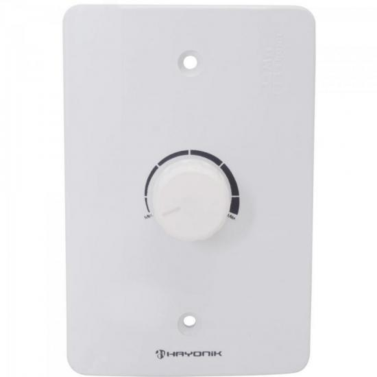 Atenuador p/ Som Ambiente 25W Branco HAYONIK (64439)