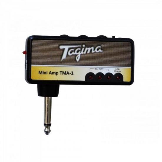Mini Amplificador TMA1 Preto TAGIMA