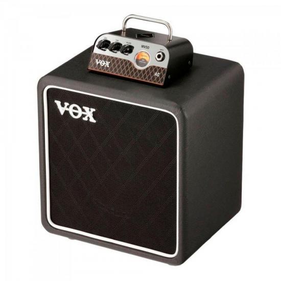 Cabeçote e Caixa MV Series MV50 AC SET Preto VOX
