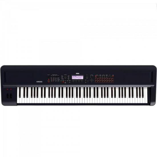 Teclado Workstation KROSS2-88 Preto KORG