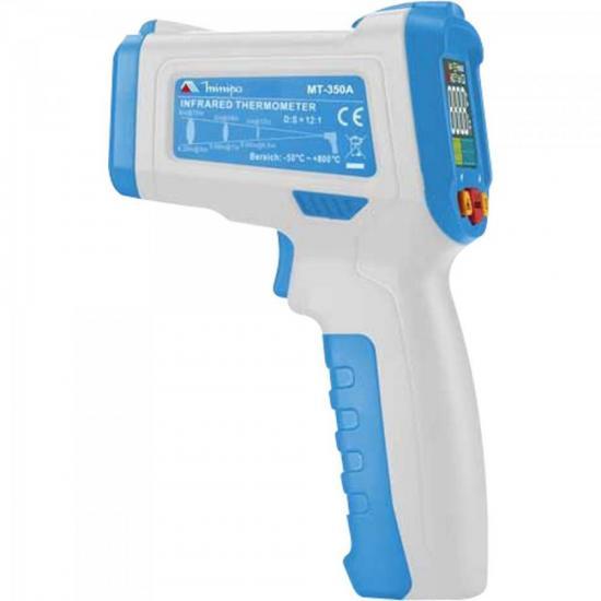 Termômetro Infravermelho MT350A Azul/Branco MINIPA
