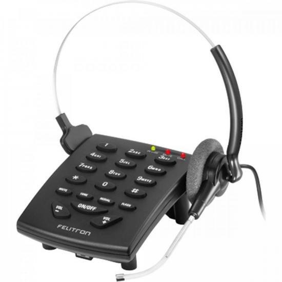 Telefone Headset S8010 S8010 BLACK VG FELITRON