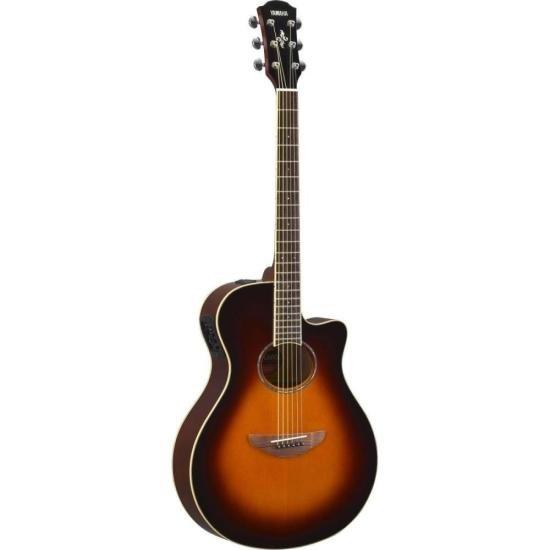Violão YAMAHA Eletroacústico Aço APX600 Old Violin Sunburst
