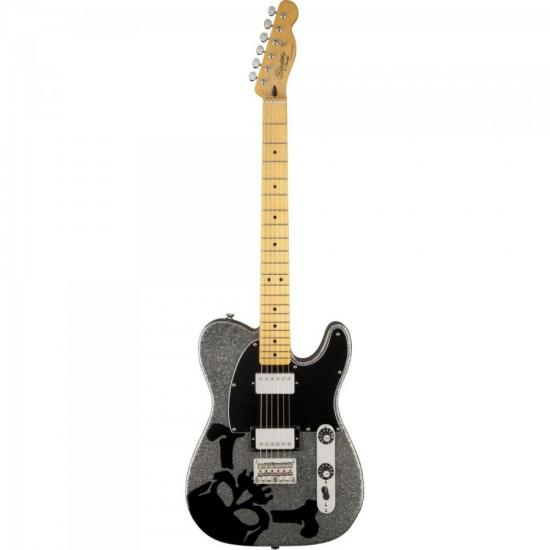 Guitarra Telecaster Scandal Haruna 581 Silver Flake Sparkle SQUIER