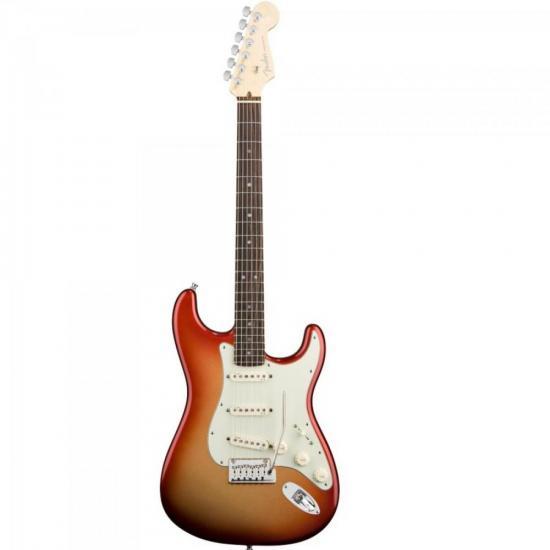 Guitarra American DELUXE Sunset Metallic FENDER
