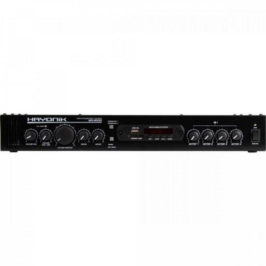 Amplificador 400W RMS Multi Setores MS4000 HAYONIK (65390)