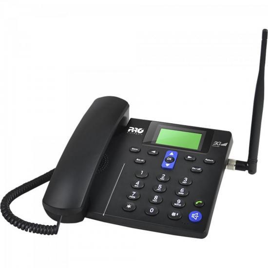 Telefone Celular de Mesa PROCS-5030 Preto PROELETRONIC