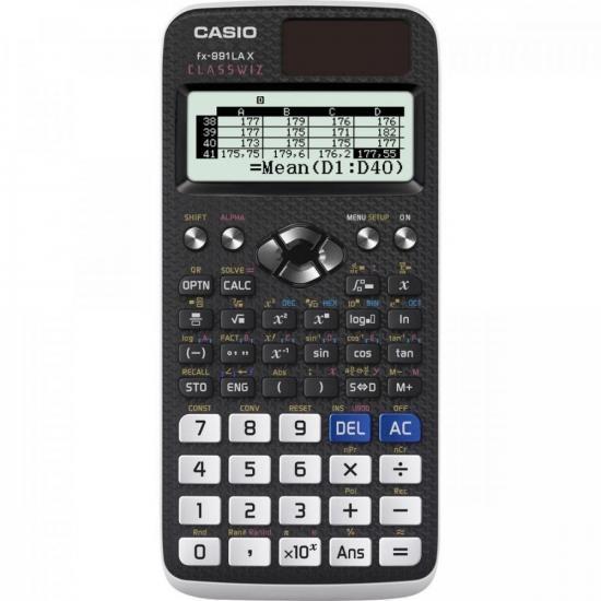 Calculadora Científica FX991LAX Preto CASIO (65560)