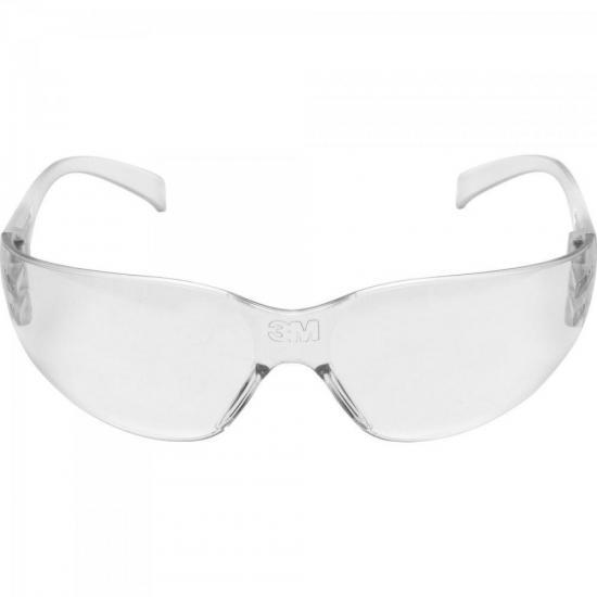 Óculos de Proteção Antirrisco VIRTUA Transparente 3M