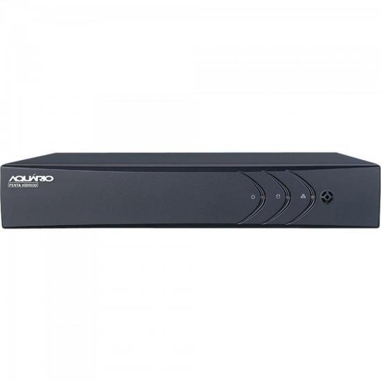 DVR Hibrido (5 em 1) 8 Canais + 2 IP HD 720P DVR-708 AQUARIO