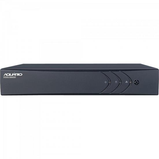 DVR Hibrido (5 em 1) 4 Canais + 1 IP HD 720P DVR-704 AQUARIO
