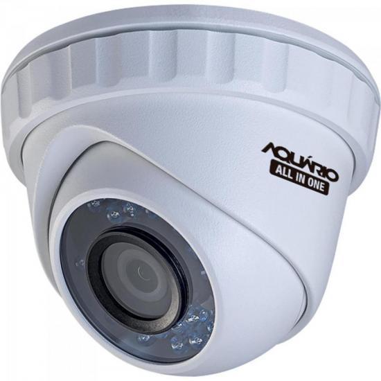 Camera Dome OPEN (4 em 1) 720P 3,6mm 20m CDF-3620-1P Case Plast AQUARIO